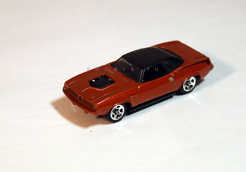 hotwheels PLYMOUTH Barracuda