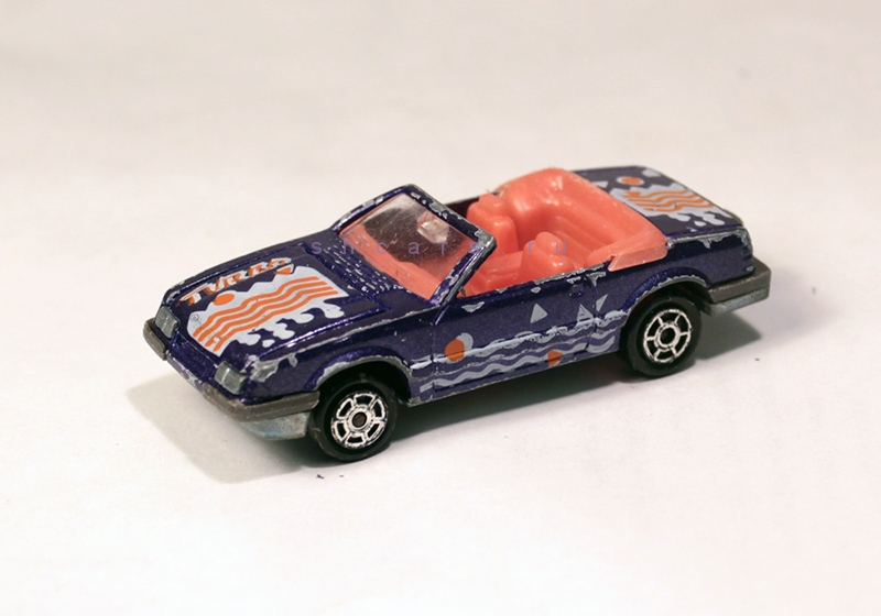 MAJORETTE FORD Maustang convertible