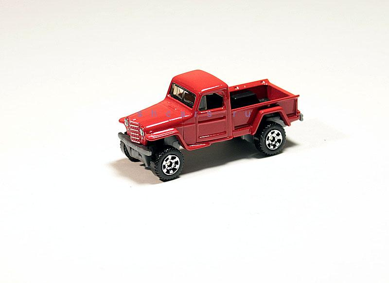 MATCHBOX JEEP Willys pick up 1952