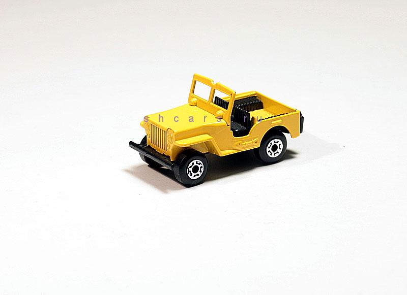 MATCHBOX JEEP CJ-2A 1945