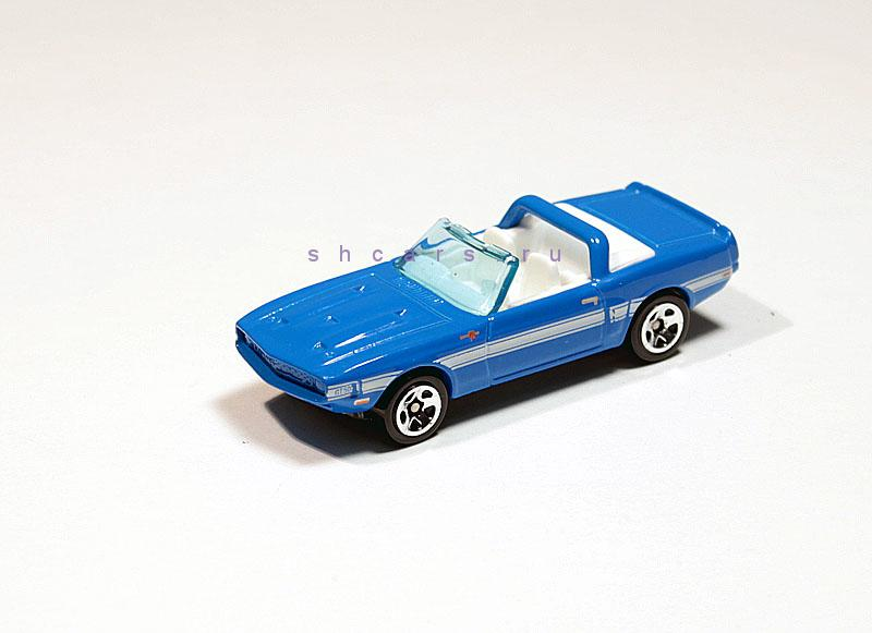 HOTWHEELS FORD Mustang Shelby GT-500 1969